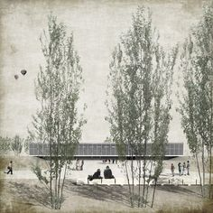TedA Arquitectes_love the maudlin tone of this rendering.