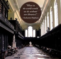 Community Post: 28 Beautiful Quotes About Libraries | Codrington Library, All Souls College, Oxford University - Oxford