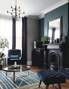 4 Cosy and Stylish Winter Living Room Ideas - Winter is coming with a beautiful sight. Let's create your cosy and stylish winter living room with these ideas and turn it into a winter wonderland. Glamour Living Room, Boho Living Room, Small Living Rooms, Living Room Interior, Home And Living, Living Room Designs, Living Room Decor, Living Spaces, Interior Shop