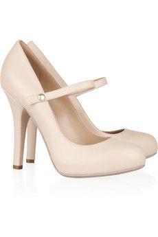 Dolce Gabbana Mary Jane Leather
