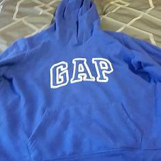 Gap women's hoodie Bright blue women's size xl Gap hoodie like new cond. GAP Tops Sweatshirts & Hoodies
