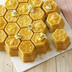 ...Honeycomb cake pan, even better ;) I could make the cutest little beeswax candles with this.
