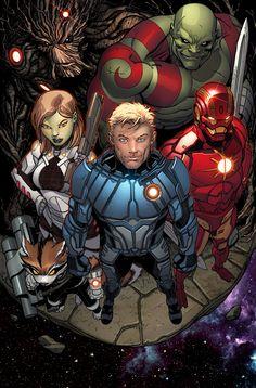Aunque parezca increíble, el de la derecha es Iron Man