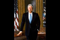 """William J. """"Bill"""" Clinton, 42nd President of the United States, Official White House Portrait"""