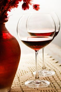 One for each of you- romantic red #wine Red in the afternoon (artificial light) by Luiz Laercio, via 500px