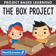 What Can You Make With A Cardboard Box? In this introduction to project based learning, students will use 21st century skills to create innovative uses for a cardboard box. They will use creativity and collaboration to brainstorm, plan, and build a box creation with a partner. Students will learn to use the critique process to give and receive feedback in order to revise their end product. Finally, pairs will exhibit their creations to an audience of their choosing. Throughout the project…