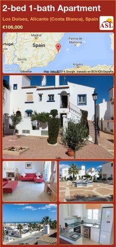 2-bed 1-bath Apartment in Los Dolses, Alicante (Costa Blanca), Spain ►€106,000 #PropertyForSaleInSpain