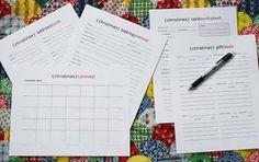 FREE Christmas eBook, Free Christmas Planner, & Calendars