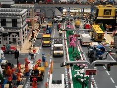 Hi, I just start to make a new city diorama for our event in march, so I did some new buildings. City Layout, Lego Army, Lego Table, Lego Projects, Lego Building, New City, Legos, Diorama, Layouts