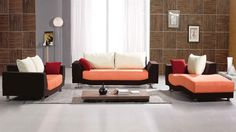 Contemporary Fabric, Living Area, Living Spaces, Find A Room, Types Of Colours, Fabric Sofa, Color Themes, Own Home