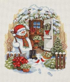 ANNA'S HAAKWERK: Kerstsfeer proeven