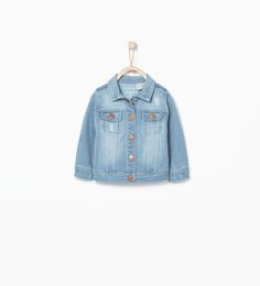 Denim jacket-Jackets-Baby girl (3 months - 3 years)-KIDS | ZARA United States