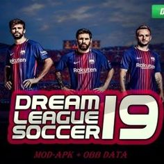 "Dream League Soccer is a most popular football video game Created by ""First touch Games Limited"" Today Sharing Dream League Soccer 2018 - 2019 MOD Football Video Games, Soccer Games, World Cup 2022, Barcelona Team, Android Mobile Games, Offline Games, Fifa 20, Soccer League, Uefa Champions League"