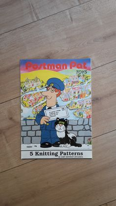 Jelly babies sweater knitting pattern patons pbn e 5098 jelly postman pat knitting pattern postman pat knitted by beeskneescraft dt1010fo