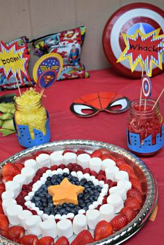 Food Ideas For A Superhero Birthday Party