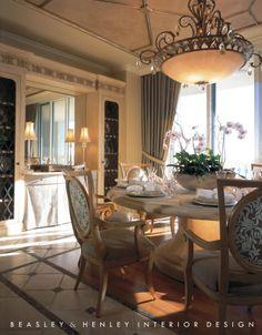 Beasley & Henley Interior Design - Dining Rooms