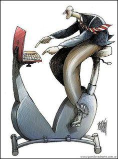 """La adicción a Internet no existe"" por la Psicóloga Helena Matute: http://pandoradearte.blogspot.com.ar/2013/11/la-adiccion-internet-no-existe.html Ilustración: Boligan"