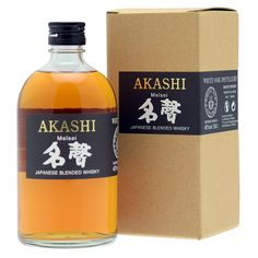 Akashi Meisei 50cl 56°, whisky japonais