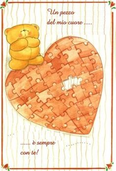 heart puzzle forever friends :)