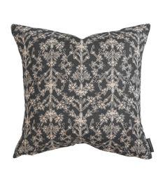 Big Pillows, Floral Pillows, Cushions, Kohler Memoirs, Woven Wood Shades, Bathroom Photos, Studio Mcgee, Rust Color, Bathroom Styling