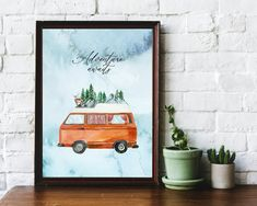 Printable Quotes, Printable Wall Art, Printing Services, Online Printing, Beautiful Sky, Adventure Awaits, Quote Prints, Wall Decor, Printables