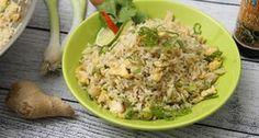 Tojásos sült rizs recept   APRÓSÉF.HU - receptek képekkel Wok, Fried Rice, Potato Salad, Grains, Potatoes, Chinese, Ethnic Recipes, Youtube, Potato