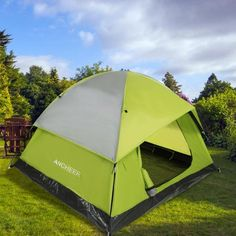 d6d3228667f 3-Person Camping Hiking Tent Lightweight Waterproof Backpacking Tent Dome  Tent Dual Layer - Walmart.com