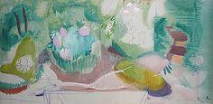 Ivon Hitchens Patrick Heron, Garden Painting, Landscape Paintings, Landscapes, Paintings I Love, Contemporary Landscape, Painting Inspiration, Modern Art, Abstract Art