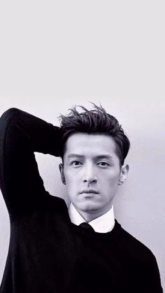 HU GE (Actor from China) 2015-ELLE MAGAZINE