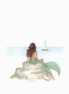 Mermaid Rock - Brunette