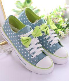 Cute canvas sneakers