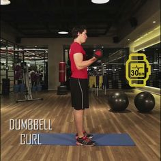 Jatomi Fitness ile 6 haftada fit olmaya ne dersiniz? 1. haftanın dördüncü hareketi: DUMBBELL CURL