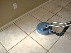 Tile and grout cleaning of porcelain tile in a residential home in Las Vegas, NV! This job was a night and day difference! Call 702-595-8178 for immediate service!