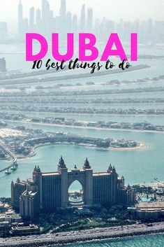 Arabian food, dancing fountains and a helicopter flight - 10 awesome things to do in Dubai.  #dubai #dubaitravel #thingstodoindubai #uae