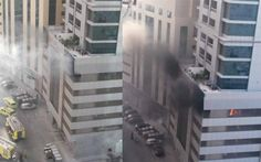 Two vehicles catch fire in Sharjah residential tower car park .. http://www.emirates247.com/news/emirates/two-vehicles-catch-fire-in-sharjah-residential-tower-car-park-2015-05-26-1.591915