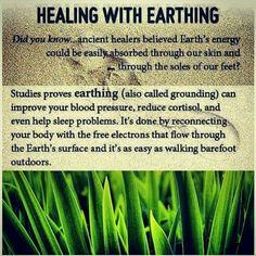 Healing with earth energy