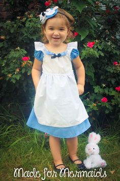 Alice in Wonderland Dress- Disney Princess. $40.00, via Etsy.