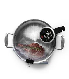 Anova Precision Cooker WiFi: Sous vide cooking device for the home chef. Top quality immersion circulator with Wi-Fi compatibility via Android and IOS apps. Rated world's best sous vide device!
