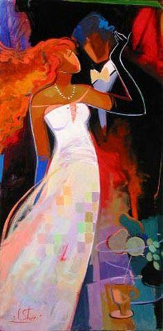 Maher Art Gallery: Irene Sheri 1968 | French/bulgarian painter
