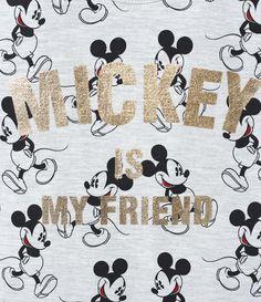 Blusa Infantil    Sem mangas    Gola redonda    Com estampa Mickey    Marca: Mickey Mouse    Tecido: Meia malha    Composição: 98% algodão e 2% poliéster         COLEÇÃO INVERNO 2017           V   eja mais produtos     Mickey Mouse.