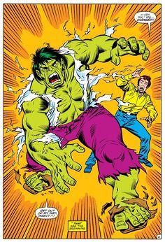 Marvel Comics, Marvel Comic Universe, Hulk Marvel, Marvel Heroes, Comic Superheroes, Comic Book Frames, Comic Books Art, Giant Monster Movies, Hulk Movie