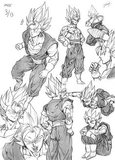 Super Vegetto sketch by GoddessMechanic2
