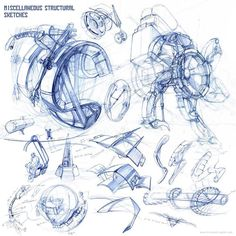 MIscellaneous Structural Sketches, Kirsten Zirngibl