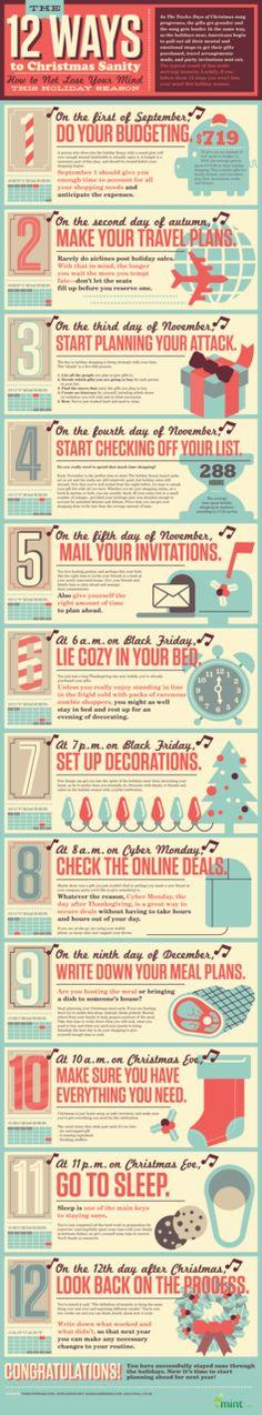 The 12 Ways To Christmas Sanity