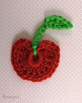 Ravelry: Cherry Applique pattern by Kelly DeSandro