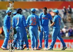 R Ashwin troubled the UAE batsmen with turn and bounce, India v United Arab Emirates, World Cup 2015, Group B, Perth, February 28, 2015 | www.indiadefends.com #CWC15
