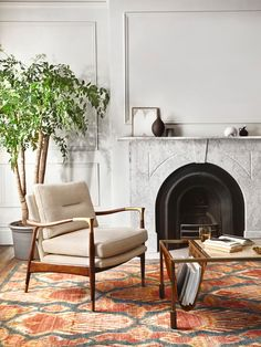 Large Furniture, New Furniture, England Furniture, Wooden Armchair, Edwardian House, Soho House, Living Room Chairs, Living Room Interior, House Prices