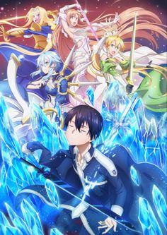 Kunst Online, Online Art, Sword Art Online Wallpaper, Alice, Sao Anime, Sword Art Online Kirito, Attack On Titan Anime, Homescreen Wallpaper, Anime Kunst