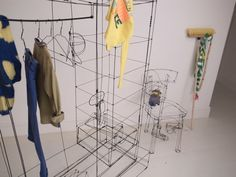 Emily Pugh, WIRE ROOM, Kids store installation and customised sofa, 2012
