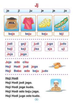 Preschool Writing, Preschool Learning Activities, Kindergarten Reading, Malay Language, Powerpoint Background Design, Learn English Grammar, Reading Worksheets, Judo, Reading Comprehension